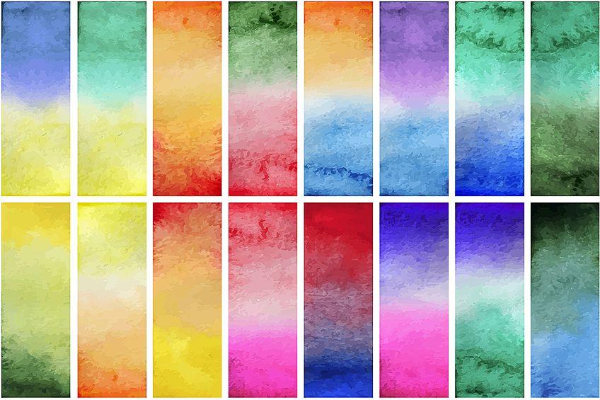 Gradient Mixed Colors