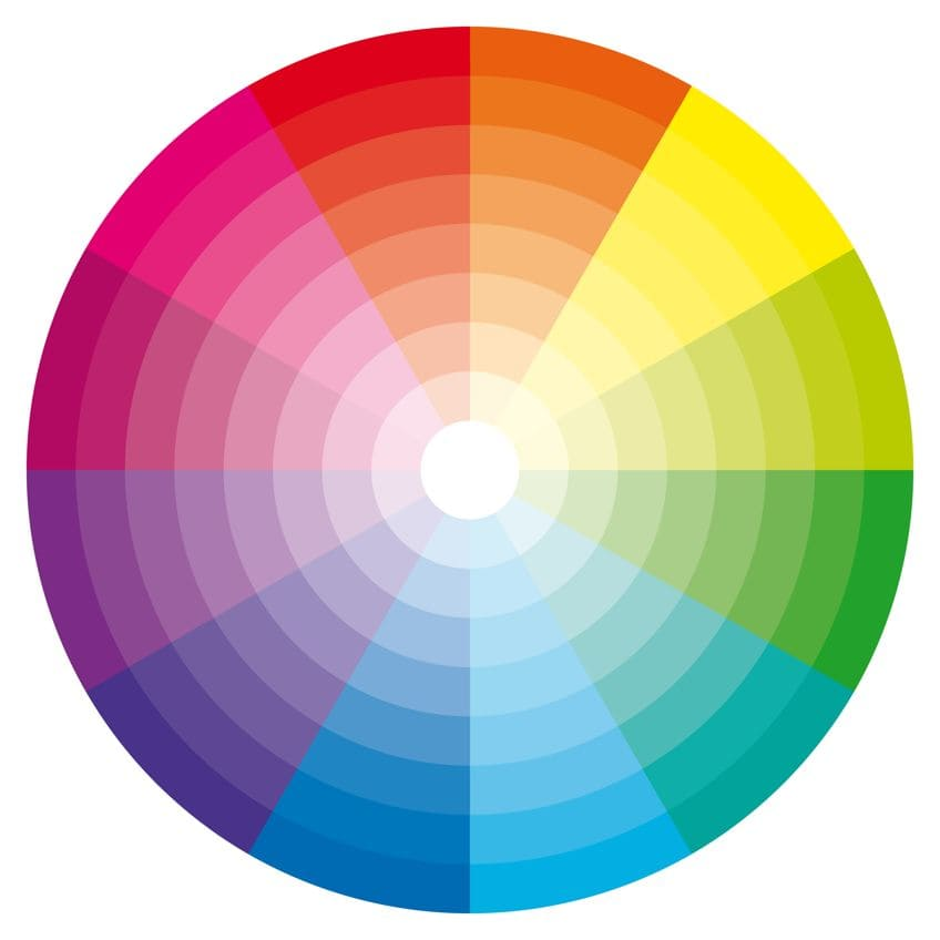 How to Make Brown Color Wheel