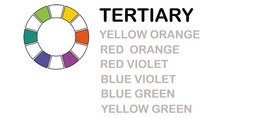Tertiary Mixed Colors