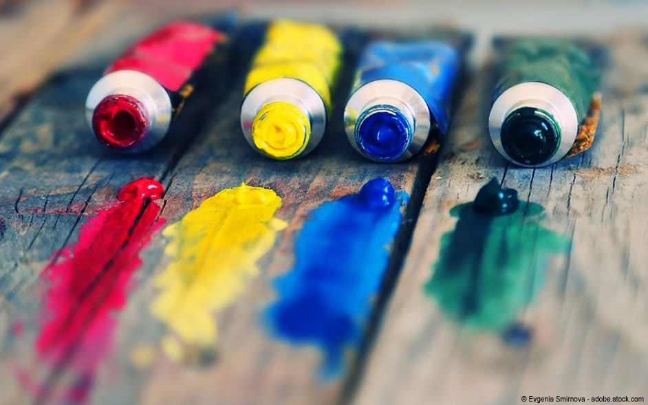 acrylics painting for beginners