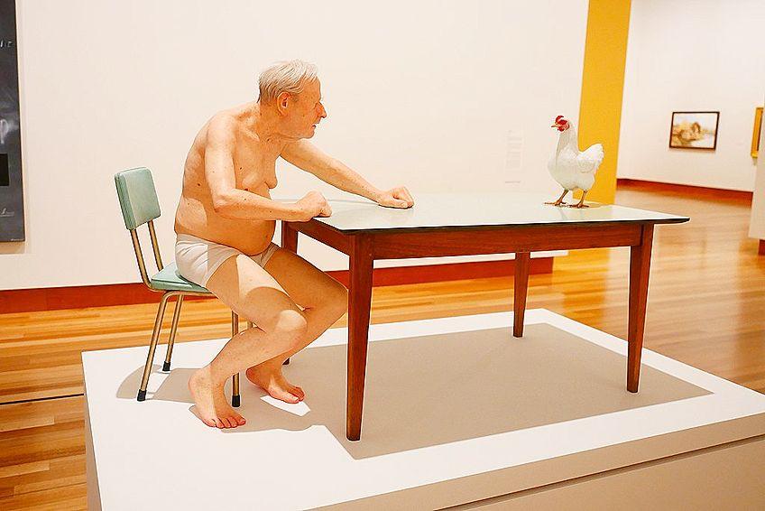Hyperrealism Sculpture