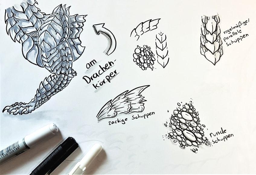 Drawing Dragon Anatomy
