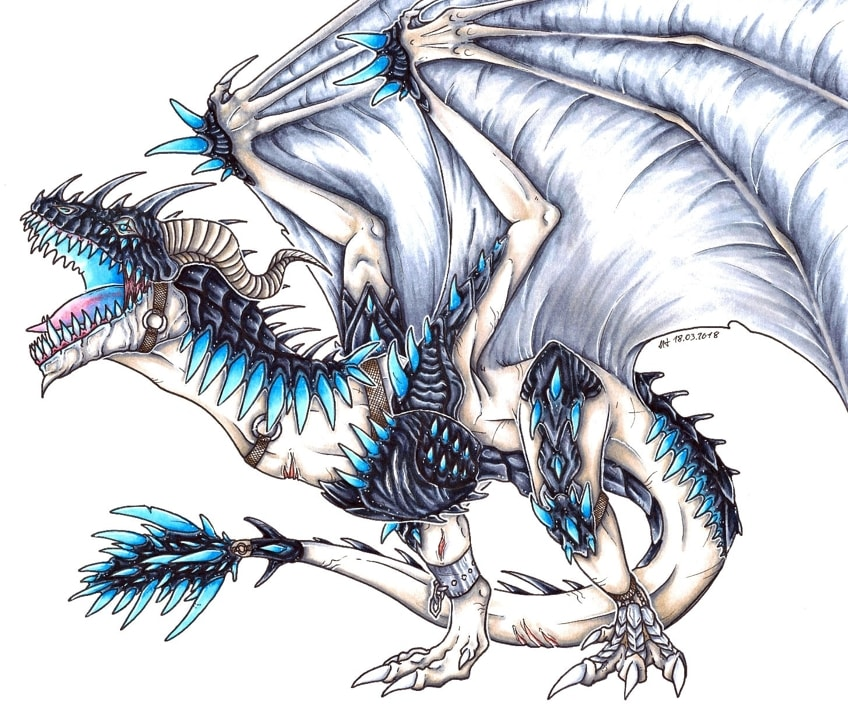 Example of a Dragon to Draw