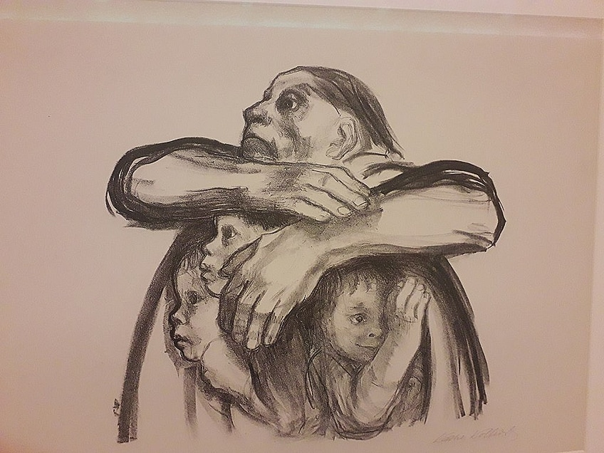 German Expressionism Drawing