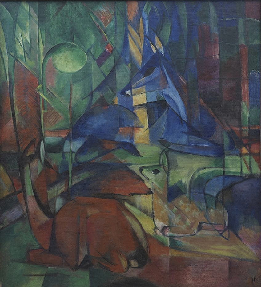 German Expressionism Paintings
