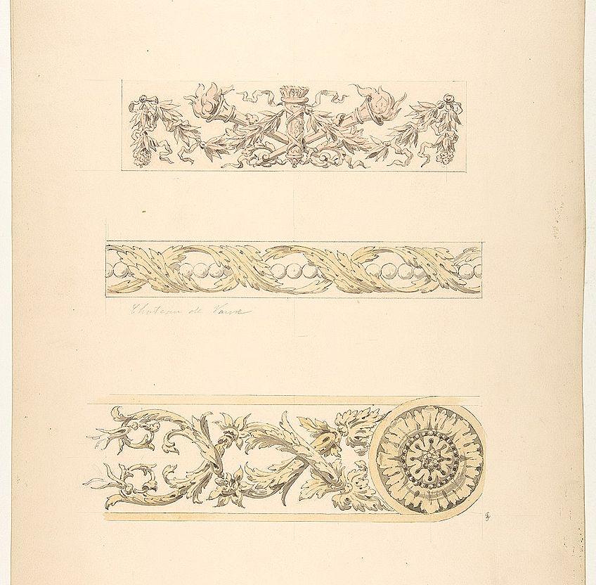 Rococo Art Motifs