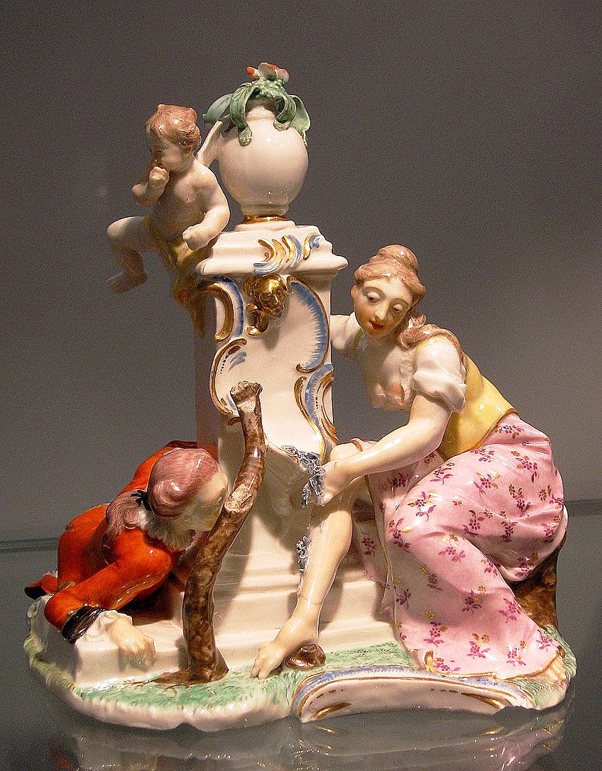 Rococo Period Porcelain