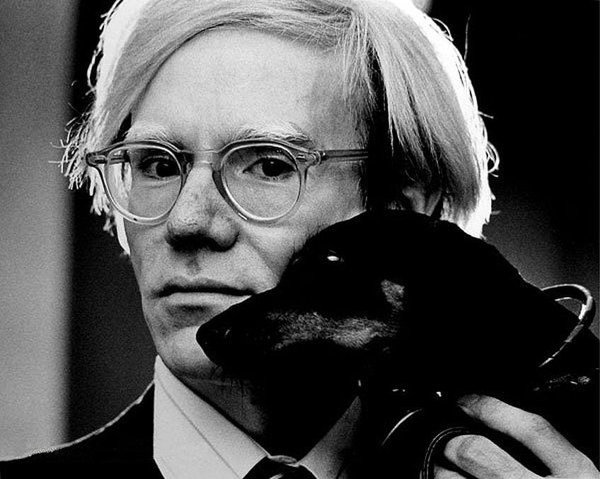 Artist Self-Portrait Warhol