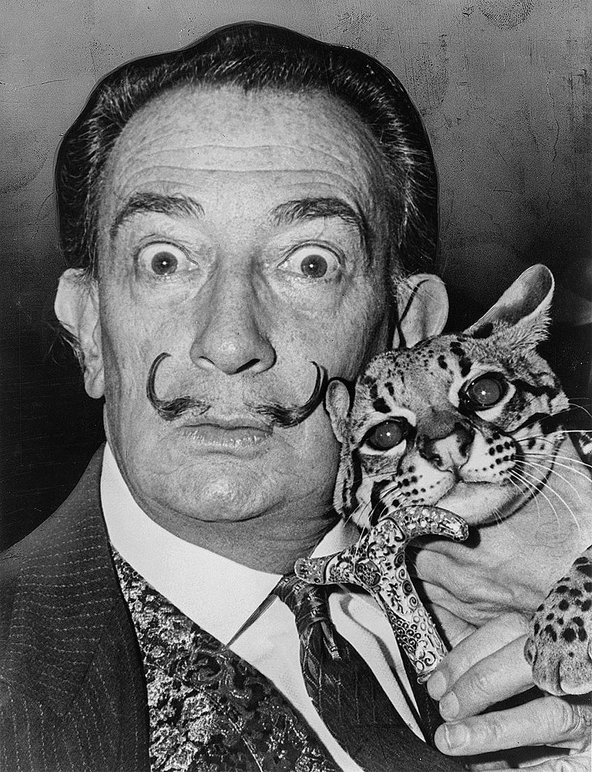 Dali Famous Portrait Paintings