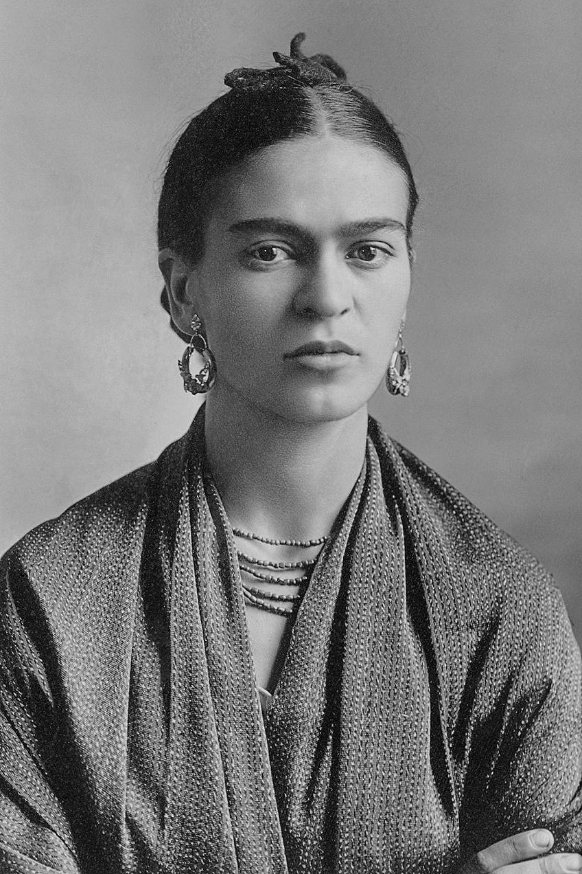 Famous Self-Portrait Artists Kahlo