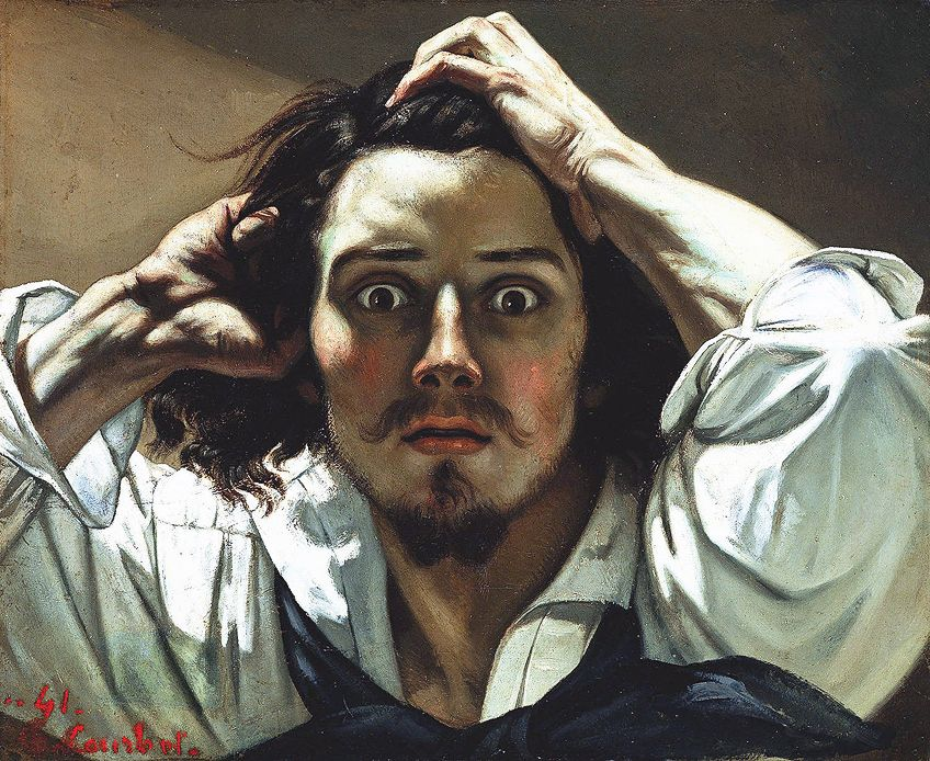 Famous Self-Portraits Courbet