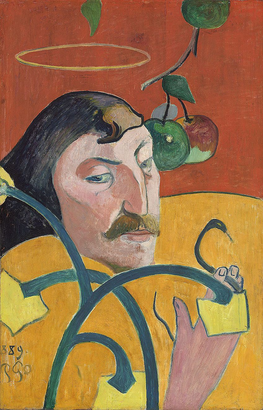 Gauguin Self-Portraiture Artists
