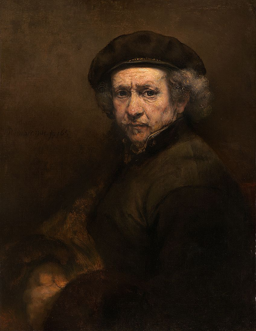 Rembrandt Artist Self-Portrait