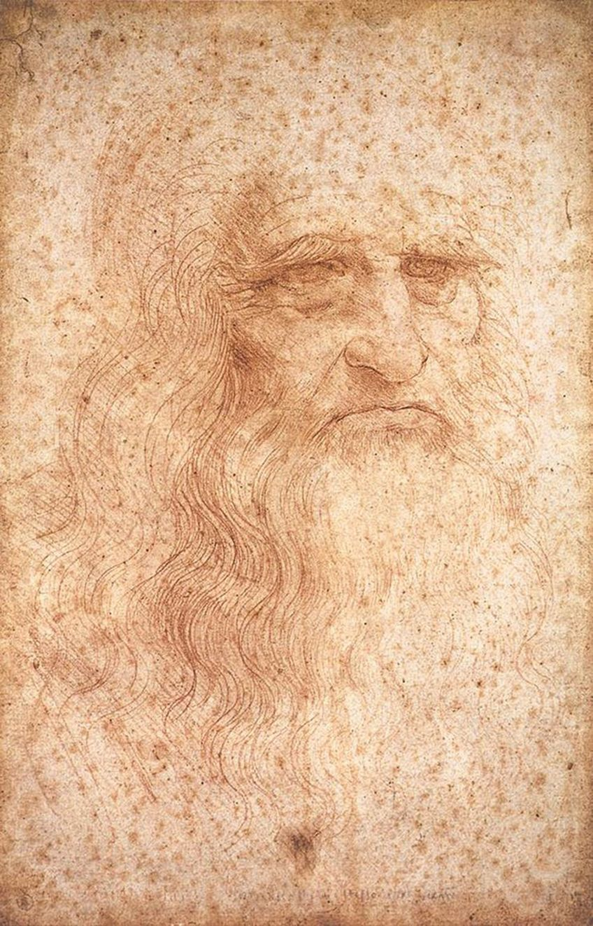 Self-Portraits Da Vinci