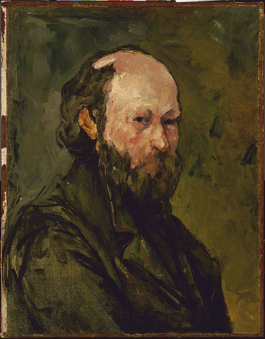 Self-Portraiture Artist Cézanne