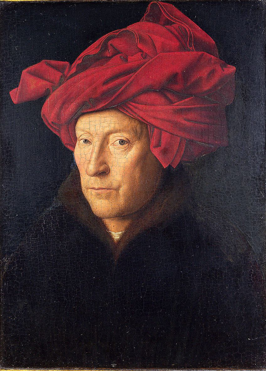 Van Eyck Self-Portraits Painting
