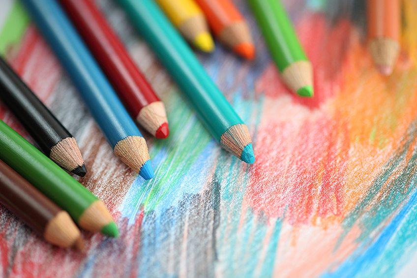 Watercolor Colored Pencil