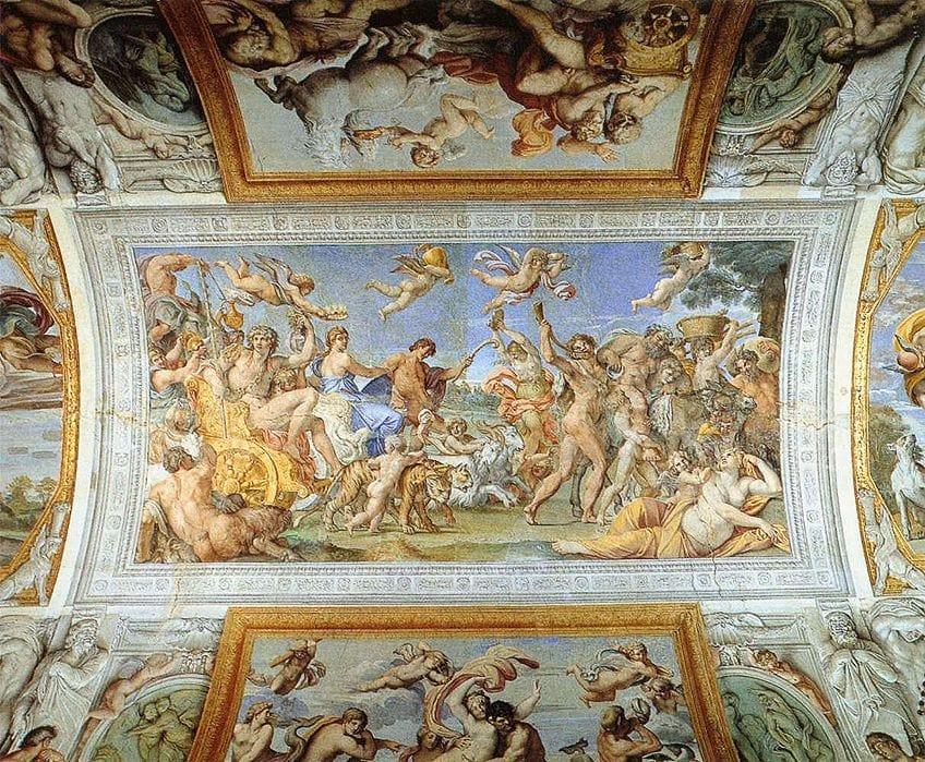 Baroque Style Frescos