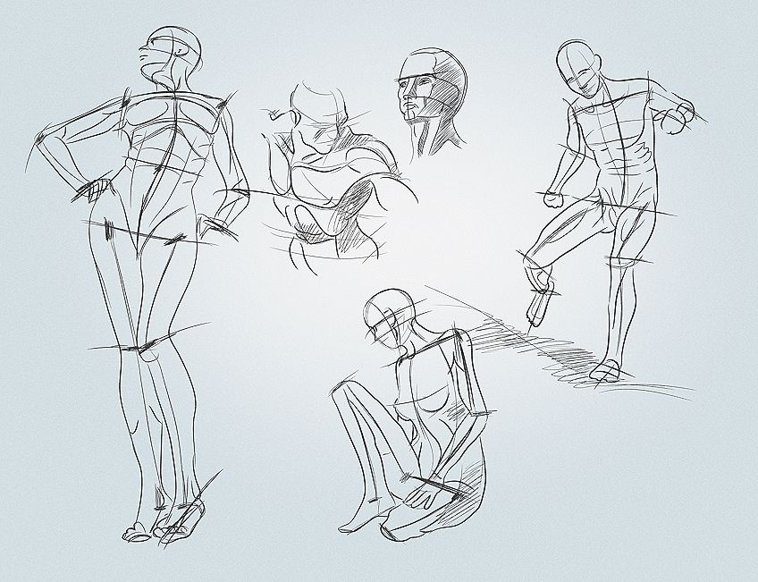 Foreshortened Drawings