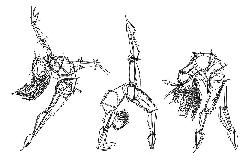 Proportions for Drawing Foreshortening
