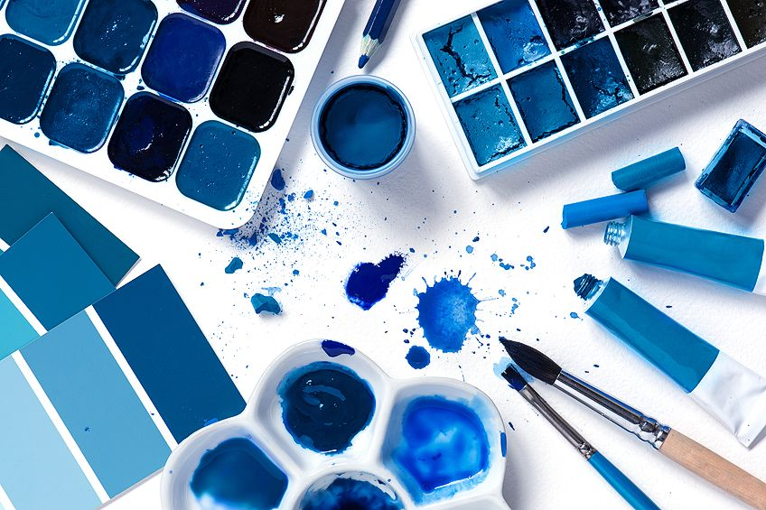 Types of Blue