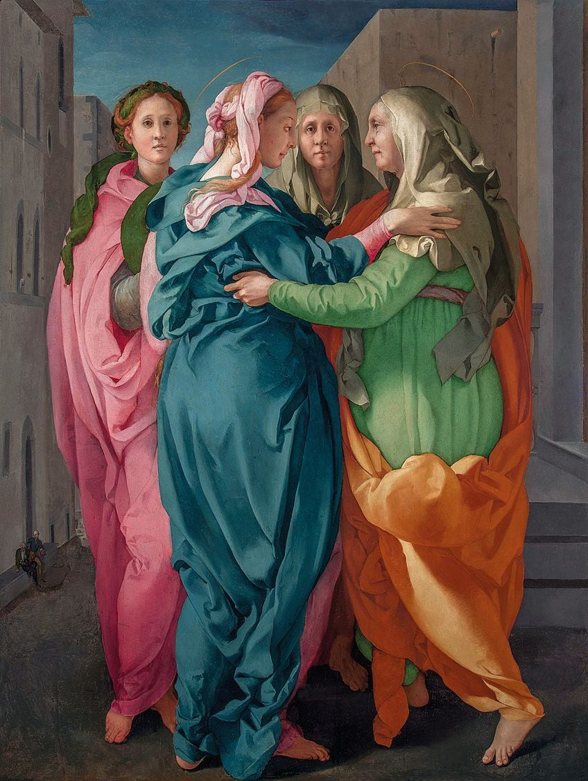 Colorful Mannerist Painting