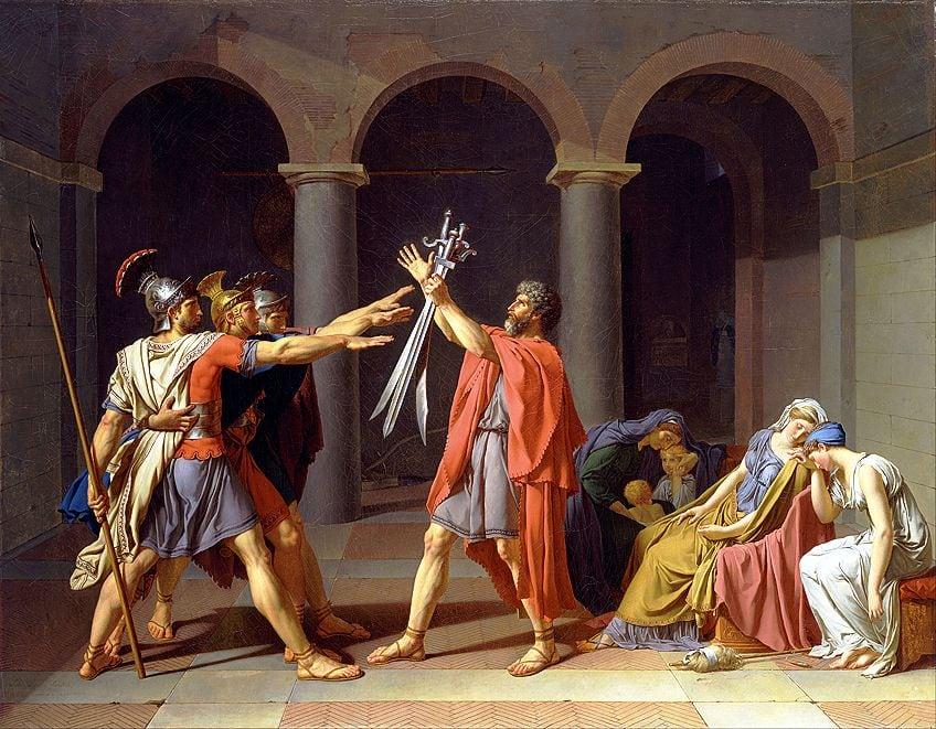 Neoclassical Painter Scene