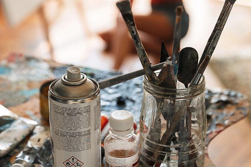 Oil Brush Cleaner