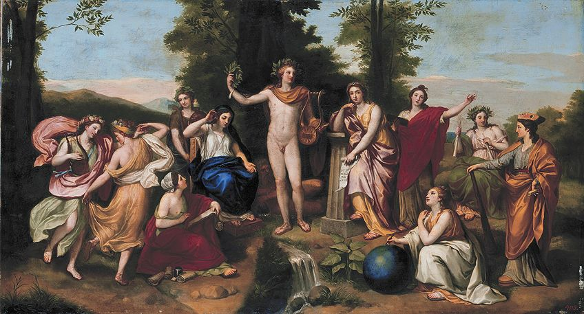 Paintings from the Neoclassical Period