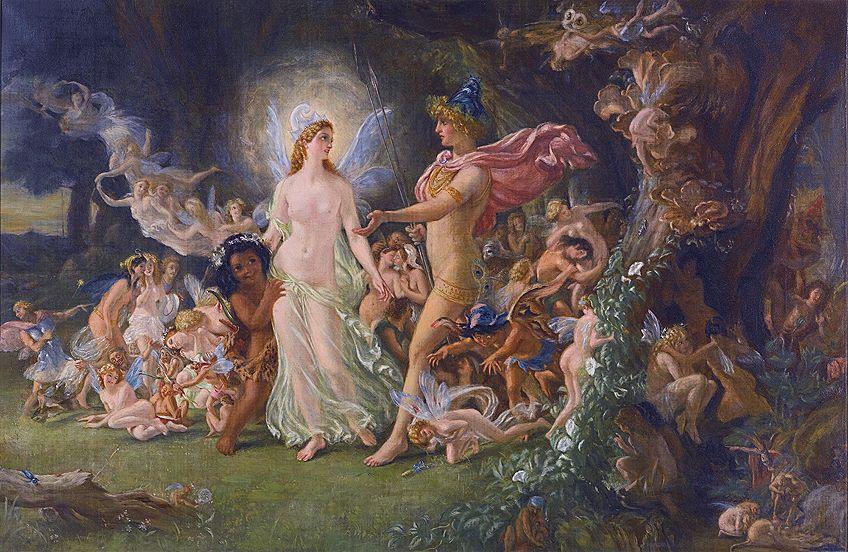 Pre-Raphaelite Art Based on Literature