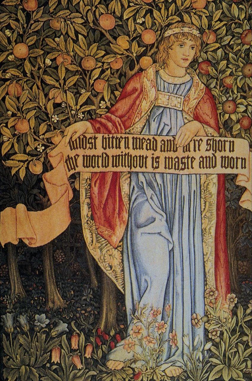 Pre-Raphaelite Arts and Crafts