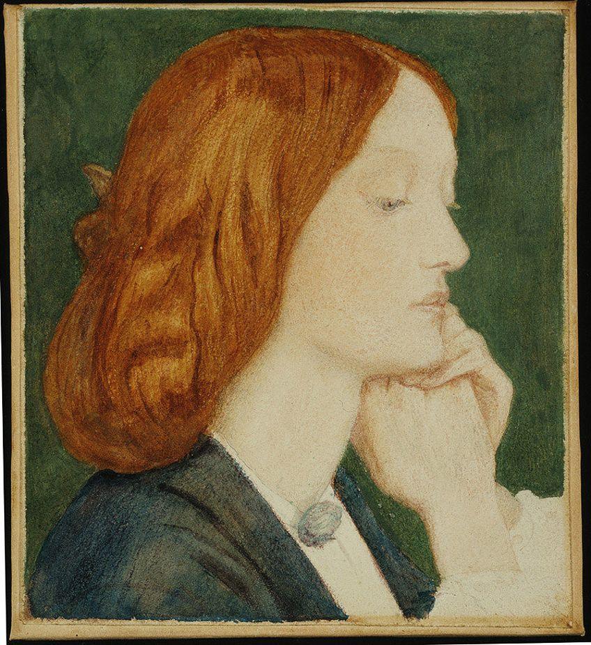 Pre-Raphaelite Painter Model