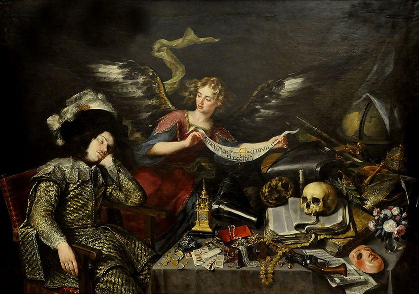 Religious Vanitas Paintings