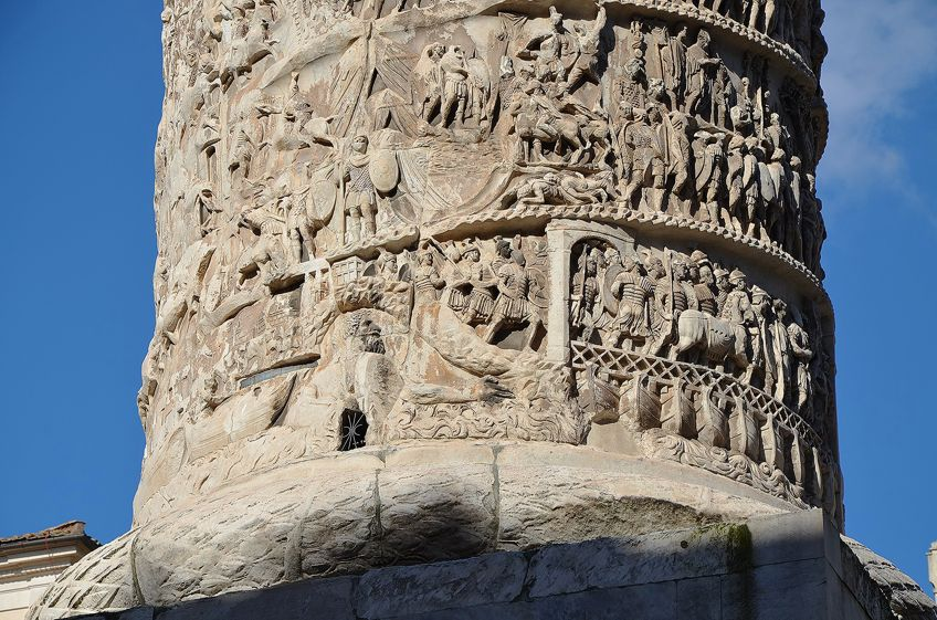 Roman Artwork Column