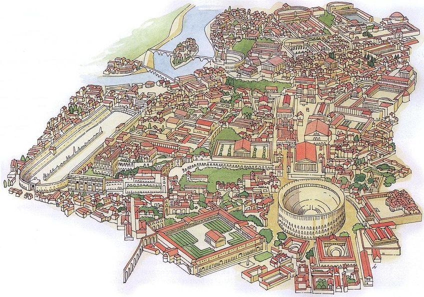 Roman Artwork Map
