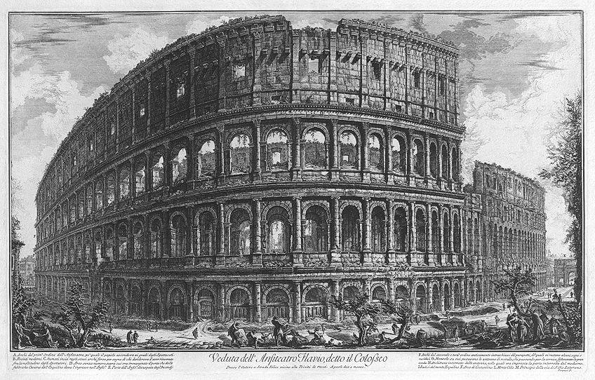 Roman Artwork of Architecture