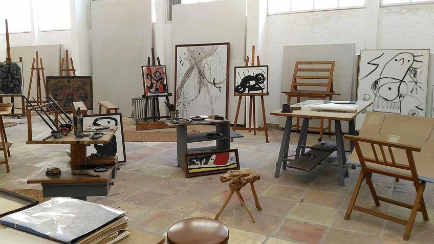 Surrealist Painter Studio