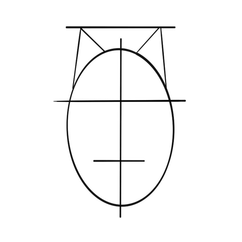 Wolf Sketch Step 4