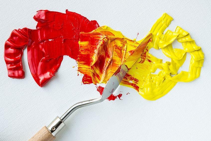 Blending Oil Paint Colors
