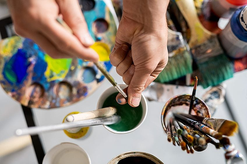 Cleaning Your Oil Painting Set
