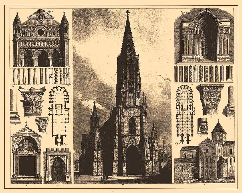 Gothic Artwork in Architecture
