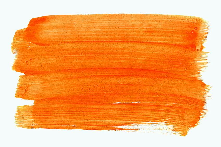 How to Make Orange with Paint
