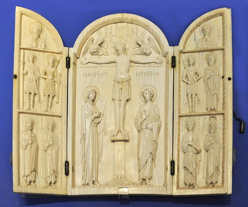 Ivory Byzantine Sculpture
