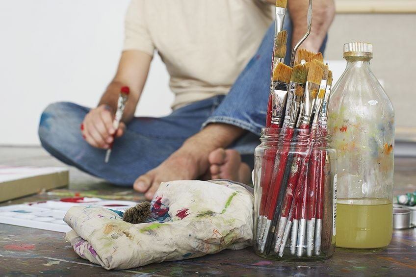 Painting with Oil Mediums