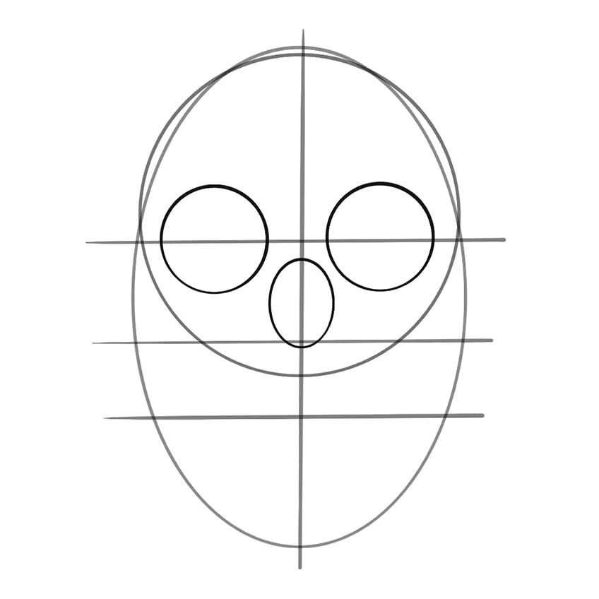 Skull Sketch 07