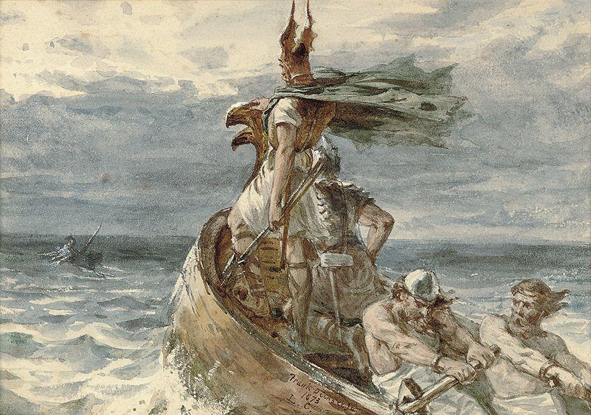 Viking Art Painting