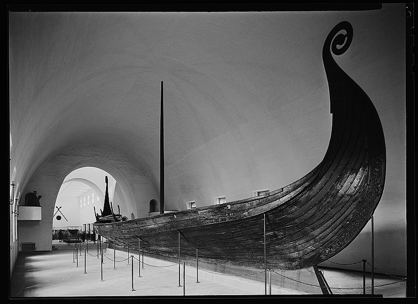 Viking Artwork Ship