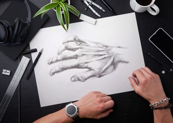 how to draw hands