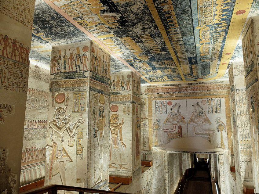 Ancient Egyptian Art Tomb