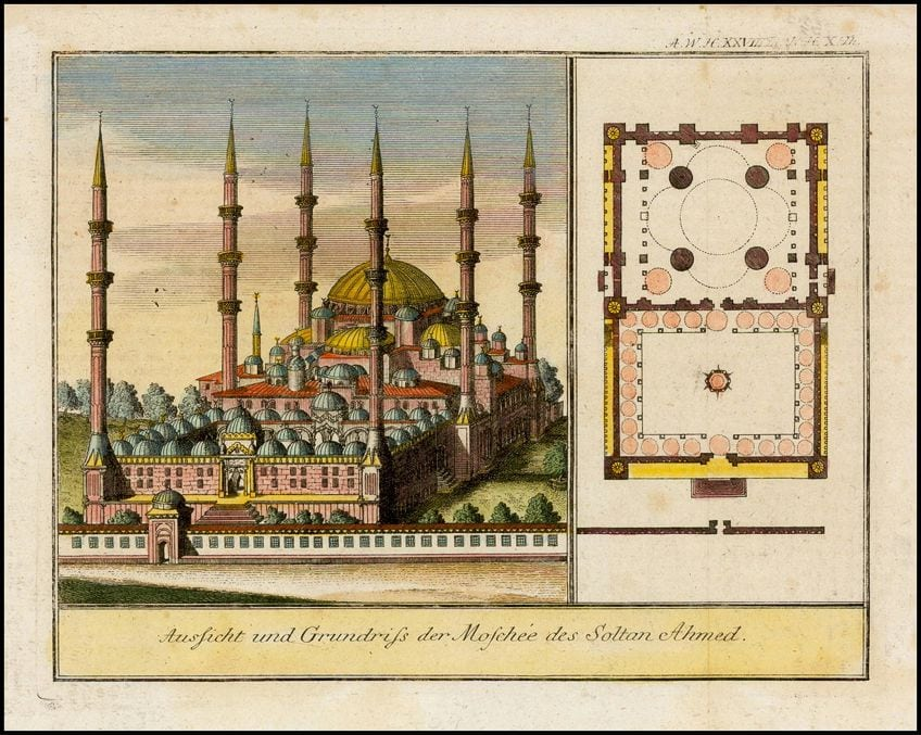 Drawing of Islamic Art and Architecture